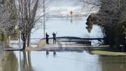 پایتخت کانادا در آب فرورفت
