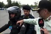 فیلم | توضیحات سردار رحیمی درباره دوربینهای روی لباس گشت ضربت پلیس