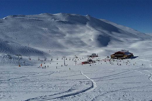 فیلم   بارش کمسابقه برف در قله توچال