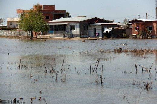 آخرین وضعیت روستاهای شرقی آققلا