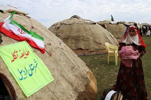 نهمین جشنواره ملی کوچ عشایر مغان
