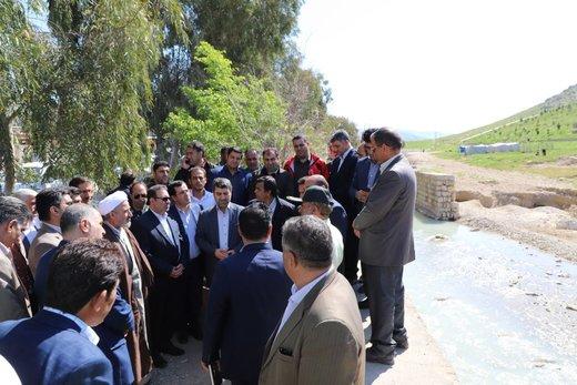 مذاکره با وزارت نیرو و تعیین تکلیف روستاههای اطراف سد سیمره