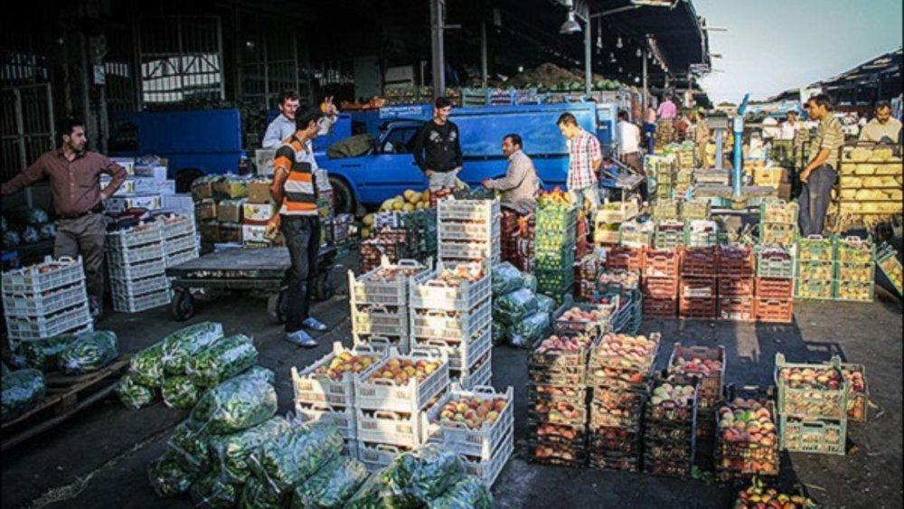 میوه فروشی+ گرانی میوه