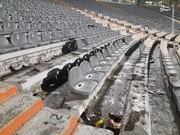 تصاویر   استادیوم آزادی پس از درگیری هواداران پرسپولیس و سپاهان