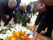 پیکر محمد آذری به خاک سپرده شد