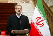 نظر لاریجانی در مورد مذاکره با آمریکا/ باب مذاکره با عربستان بسته نیست