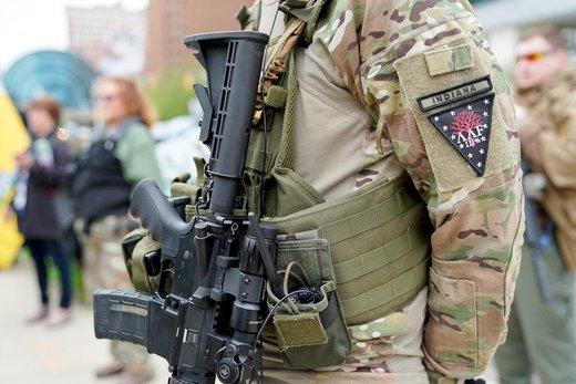 نمایشگاه بزرگ اسلحه در ایندیاناپولیس