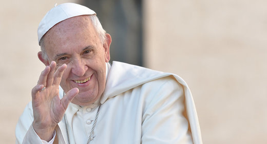 پاپ فرانسیس، پاپِ سنتشکن