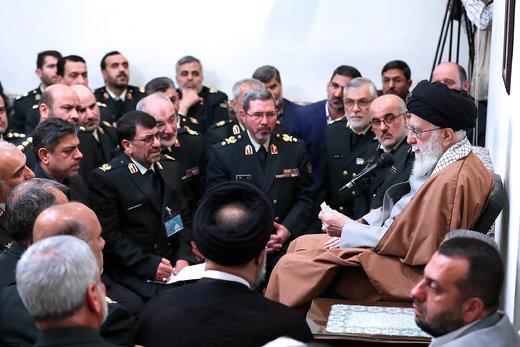 دیدار جمعی از فرماندهان نیروی انتظامی