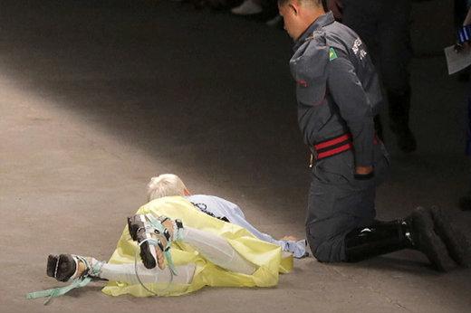 فیلم | لحظه مرگ مانکن ۲۶ ساله روی صحنه شوی سائوپائولو