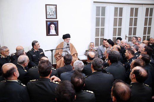 Supreme Leader urges police serious dealing with insecurity