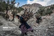 تصاویر | روزگار سخت زنان لُر