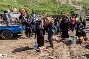 تصاویر | وضعیت زندگی مردم پلدختر ۲۷ روز پس از سیل