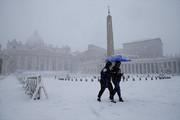 فیلم   بارش برف یک متری در ایتالیا!