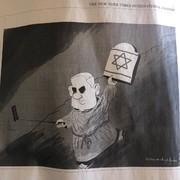 وقتی کاریکاتور بنیامین نتانیاهو، ضد یهودی خوانده میشود!