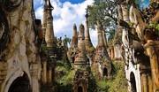 تصاویر | جاذبه توریستی میانمار؛ برجهای پیچ خورده پیچیده!