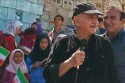 فیلم   پرویز پرستویی در جمع سیلزدگان خوزستان