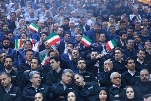 رئیسجمهور در مراسم جشنواره ملی قدردانی از کارگران