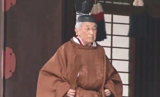 فیلم | سبک خاص امپراتور ژاپن برای کنارهگیری از جایگاهش