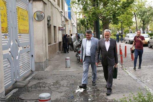 حضور محمدرضا خاتمی در دادگاه