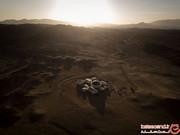 دانشآموزان خوش اقبالی که قدم به مریخ گذاشتند! +تصاویر
