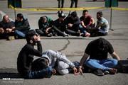تصاویر   ۱۶۵ سارق جدید در تهران دستگیر شدند