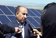 افتتاح اولین نیروگاه خورشیدی شمال غرب کشور در اردبیل