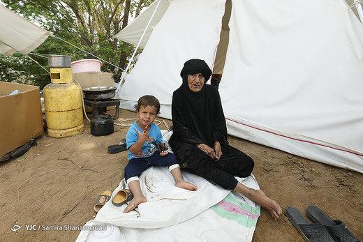 زندگی در اردوگاه خسرج حمیدیه