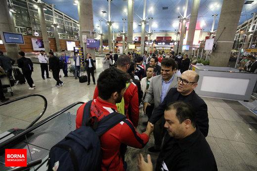 بازگشت فرنگیکاران از چین