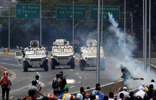 واکنش رسمی ایران به تلاش و تهدید آمریکا برای کودتا در ونزوئلا