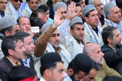 دیدار معلمان و فرهنگیان با رهبر معظم انقلاب اسلامی