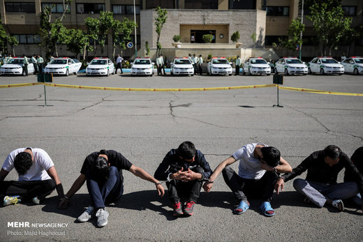 اولین مرحله طرح کاشف پلیس آگاهی تهران بزرگ
