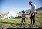 تصاویر | یک روز با معلم کودکان عشایر