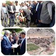 واگذاری ۳۶ قطعه زمین تفکیکی به اهالی روستای کولوی خرمآباد