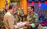 سرهنگ ارتشی از سوی فرمانده کل ارتش تقدیر شد/ عکس