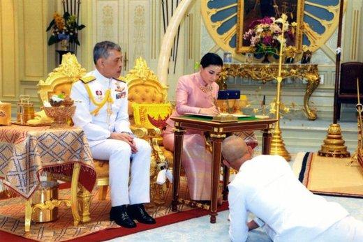 ازدواج پادشاه تایلند