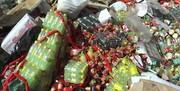 ۳۰۰۰ کیلوگرم مواد غذایی فاسد در فردیس معدوم شد