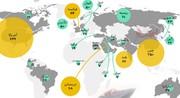 اینفوگرافیک | کدام کشورها بیشترین هزینههای نظامی را داشتهاند؟