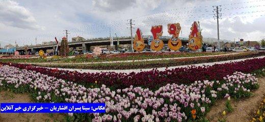نهمین جشنواره گل ارومیه