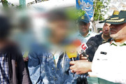 فیلم | حرفهای عجیب اوباش و خفتگیران تهران