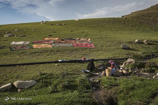 سیلزدگان لرستانی در پناه طبیعت