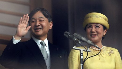 فیلم | استقبال بینظیر مردم ژاپن از امپراتور جدید