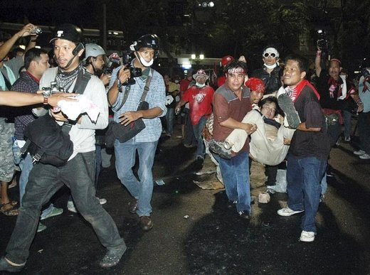 خبرنگاران در خط مقدم درگیریها