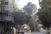 فیلم | لحظه حمله هوایی رژیم صهیونیستی به غزه