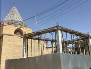 تعرض به حریم بقعه تاریخی بابا قاسم در اصفهان/ میراث فرهنگی: ترسی از اصلاح مجوز نداریم