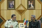 دیدار ۲ فرمانده دیگر/ تمام قد از ارزشهای اسلامی و انقلابی صیانت میکنیم