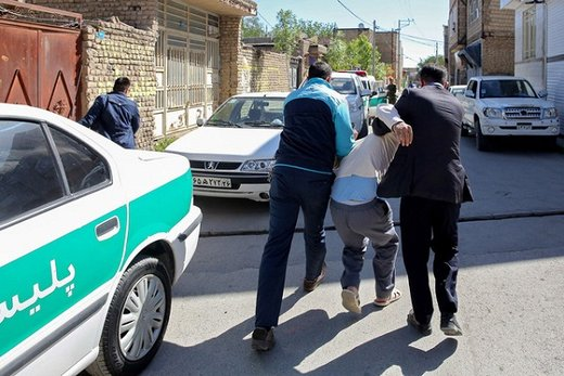 درگیری مسلحانه با مامور نیروی انتظامی در گرمی