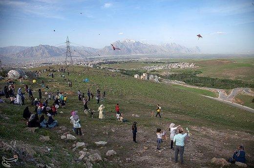 جشنواره بادبادکها در کرمانشاه