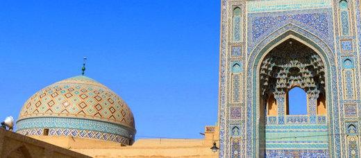 هجوم موریانه به مسجد جامع یزد | کاه زمینه مناسبی برای تغذیه موریانهها فراهم کرده است