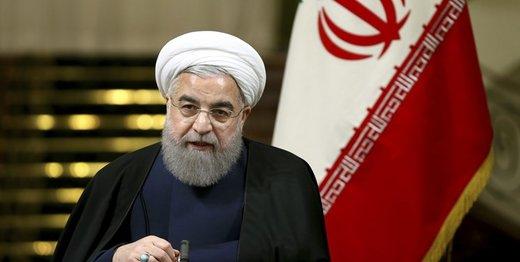 كلمة الرئیس روحانی عن خفض التزامات ایران بالاتفاق النووی